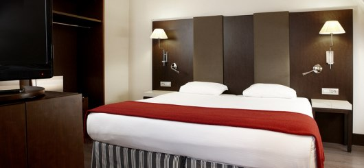 NH Brussels Louise Superior Doppelzimmer, © NH Hotels