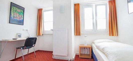 Einzelzimmer, © Baltic Hotel Lübeck