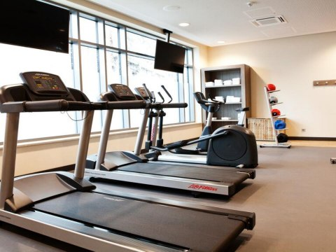 Fitnessraum, © Hampton by Hilton München City Center East
