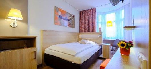 Einzelzimmer, © Hotel VICTORIA Nürnberg