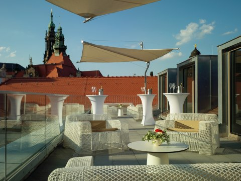Dachterrasse, © H-Hotels AG