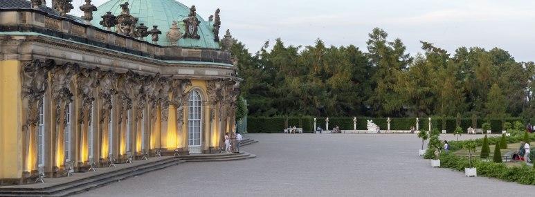 Schloss Sanssouci in Potsdam, © PMSG Andre Stiebitz