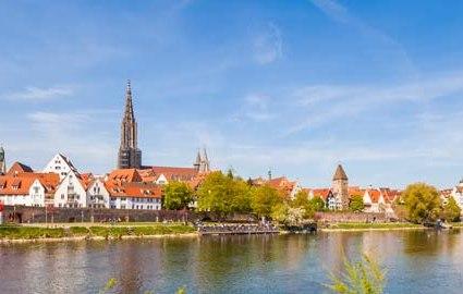 Bahn & Hotel Ulm, © iStock