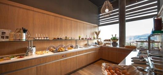 Frühstücksbuffet, © aDLERS Lifestyle-Hotel Innsbruck/Mike Rabensteiner