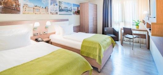 Zweibettzimmer, © Best Western Hotel Kantstrasse Berlin