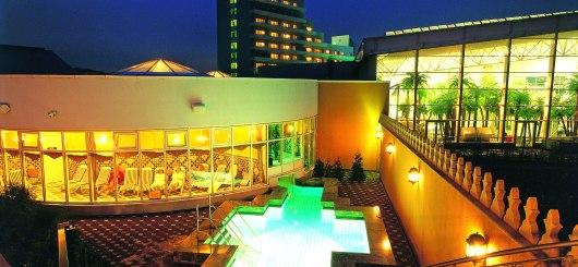 Außenansicht abends, © GCH Hotel Group