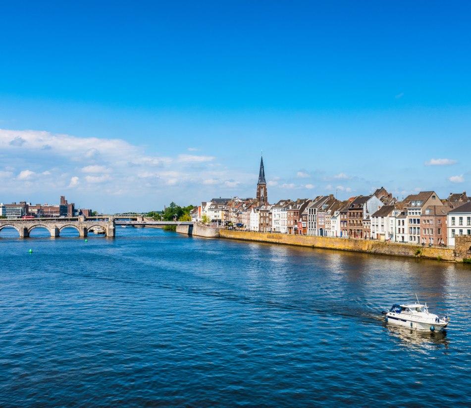 Panorama von Maastricht - BAHNHIT.DE, © Getty, Foto: Allard Schager