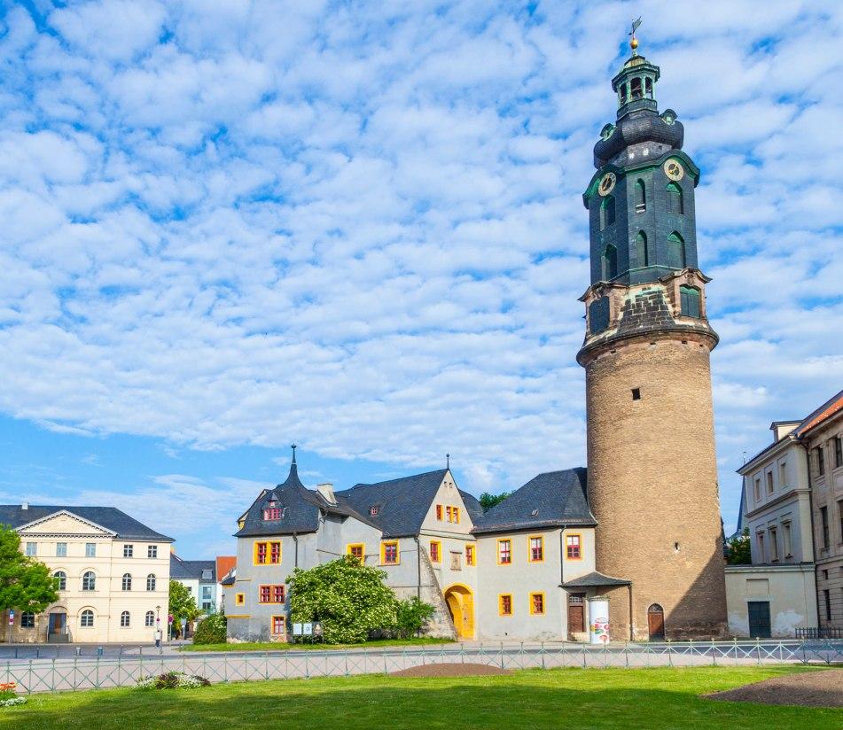 Das Stadtschloss von Weimar - BAHNHIT.DE, © getty, Foto: Meinzahn