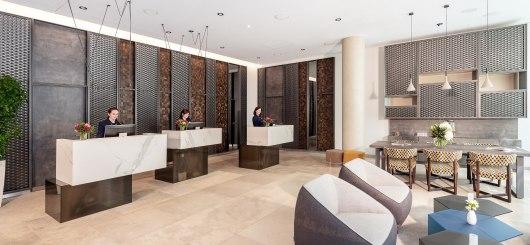 2_Rezeption und Lobby_NH_Leipzig-zentrum_067_med, © NH Hotels