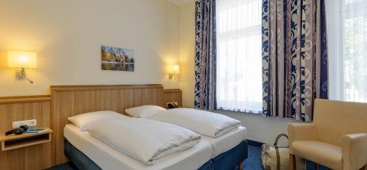 Hotel Excelsior Lübeck Doppelzimmer, © Hotel Excelsior Lübeck