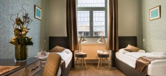 Twin Zimmer, © Novum Management GmbH, Foto: Reiner Hausleitner