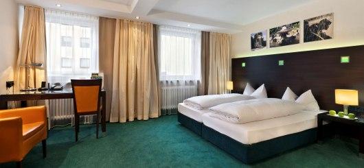 Superior Doppelzimmer, © Flemings Hotel München-Schwabing