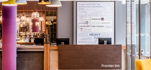 Rezeption, © Premier Inn GmbH