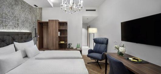 Design Zimmer, © Hotel Schwarzer Adler Innsbruck/Zimmer_Design:alexanderhaiden.at