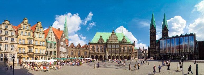 Marktplatz von Bremen - BAHNHIT.DE, © getty, Foto: Fotodesign Czerski