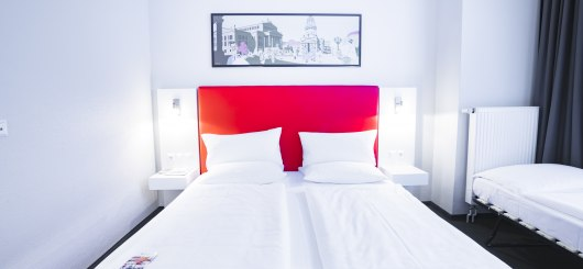 Standard Doppelzimmer, © Novum Management GmbH, Foto: C.BARZ