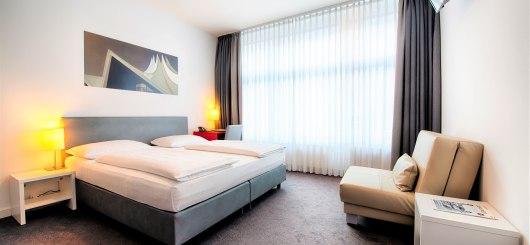 Standard Doppelzimmer, © Novum Management GmbH, Foto: Andreas Rehkopp