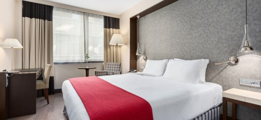 NH Brussels Louise Standard Doppelzimmer, © NH Hotels