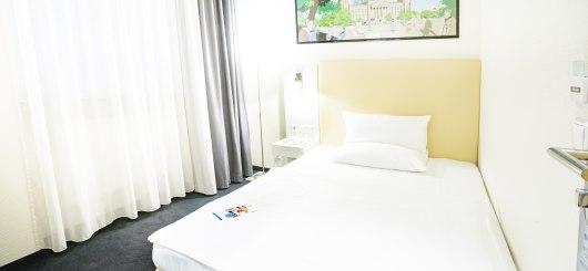 Standard Einzelzimmer, © Novum Management GmbH, Foto: C.BARZ