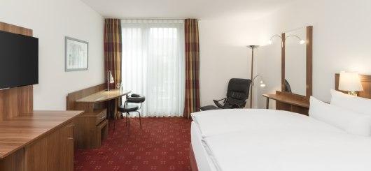 NH Heidelberg Doppelzimmer, © NH Hotels