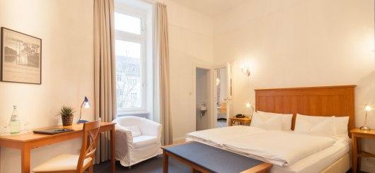Zimmer, © Hotel Brandies, Sibylle Korbmacher / Foto: Florian Busch