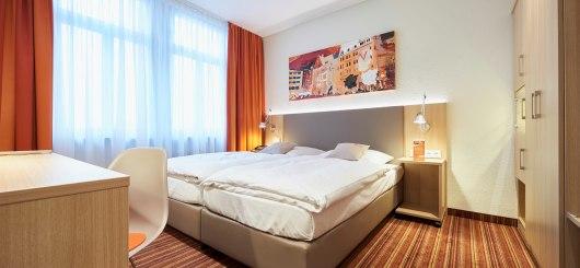 Doppelzimmer, © Hotel VICTORIA Nürnberg