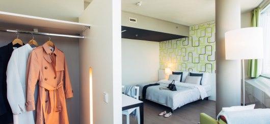 Garderobe, © harry´s home Hotels / Daniel Zangerl