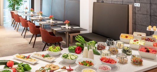 Frühstücksbuffet_NH_Leipzig-zentrum_053_med, © NH Hotels