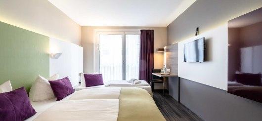 Dreibettzimmer, © Hotel Demas City