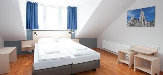 Doppelzimmer, © a&o hostels Marketing GmbH