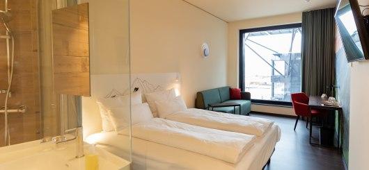 aja Zürich Superior Doppelzimmer, © a-ja Zürich Resort GmbH