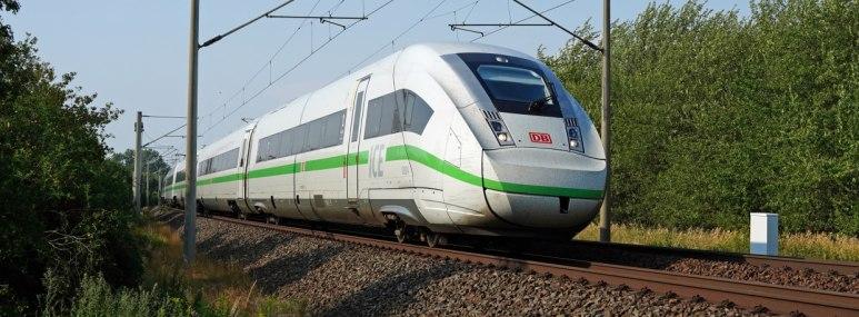 Umweltfreundlich reisen mit dem ICE 4. - BAHNHIT.DE, © Deutsche Bahn