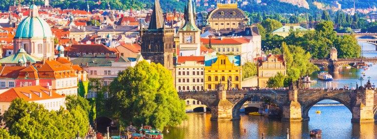 Moldau in Prag - BAHNHIT.DE, © getty, Foto: Oleksiy Mark