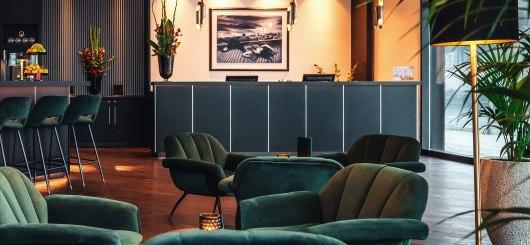 Lobby, © Holiday Inn Berlin City Center East Prenzlauer Berg