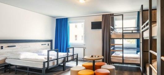 Familienzimmer, © a&o hostels Marketing GmbH
