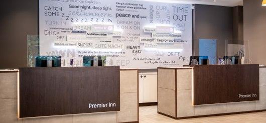 Rezeption, © Premier Inn GmbH