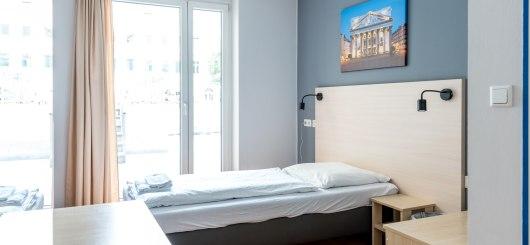 Einzelzimmer, © a&o hostels Marketing GmbH